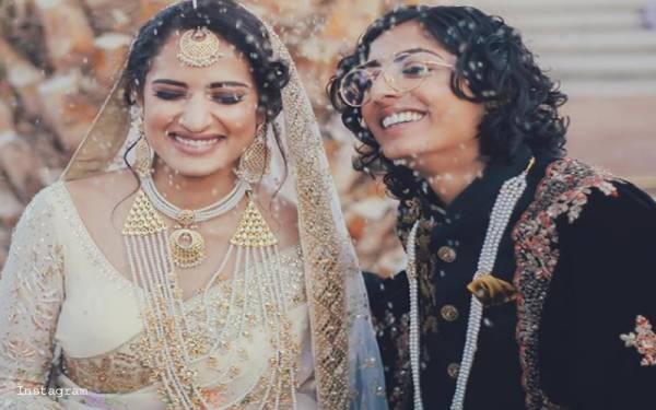 پاکستانی ہم جنس پرست خاتون نے بھارتی لڑکی سے شادی کرلی، تصاویر سوشل میڈیا پر وائرل